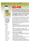 Ropel - Outdoor Dog, Cat and Bird Repellent Brochure