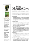 Mini ScareCrow - Auto Pet Deterrent Brochure