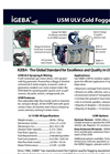 IGEBA - U5M - ULV Cold Fogger & Sprayer Brochure