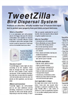 TweetZilla - Bird Dispersal System - Brochure