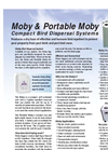Moby & Portable Moby - Compact Bird Dispersal System Brochure