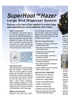SuperHoot -  HazerLarge Bird Dispersal System Brochure
