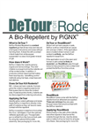 DeTour & RoadBlock - Bio-Repellents for Rodents - Brochure