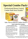 Nixalite - Mouse Control Combo-Pack Brochure
