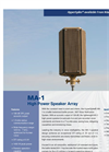 HyperSpike - High Powered Speaker Array (HPSA) System Brochure