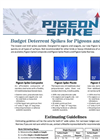 Pigeon Spikes - Products Brochure