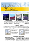 Nixalite - E-Spike - Economy Stainless Steel Bird Spikes - Brochure