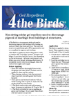 4 the Birds - Bird Repellent Gel - Brochure