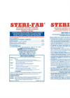 Steri-Fab Product Label