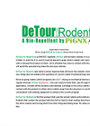 DeTour & RoadBlock - Bio-Repellents for Rodents - Application Instructions Manual