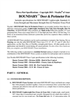 Boundary - Deer and Perimeter Fencing - Datasheet