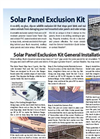 Nixalite - Solar Panel Bird & Pest Exclusion - Brochure