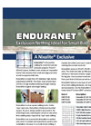 EnduraNet - Exclusion Netting Ideal for Small Bird & Bat - Brochure