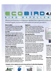 EcoBird - Model 4.0 - Fogging Bird Repellent - Brochure