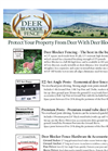 Deer Blocker Fence - Brochure