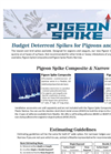 Budget Deterrent Spikes for Pigeons and Seagulls - Brochure