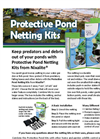 Protective Pond Netting Kits - Brochure