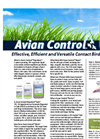 Avian Control - Effective, Efficient and Versatile Contact Bird Repellent - Brochure