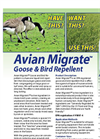 Avian Migrate Goose & Bird Repellent - Brochure