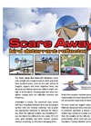 Scare Away Bird Deterrent Reflector - Brochure