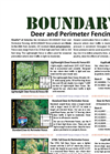 BOUNDARY Deer and Perimeter Fencing - Brochure