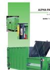 Bergmann APB 606 Alpha-Pack-Bin for Roll-Off Skip Loaders - Brochure