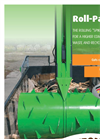 Bergmann SM 1600 (1,600 Litre Capacity) - Tipping Skip for Collection and Transport - Brochure