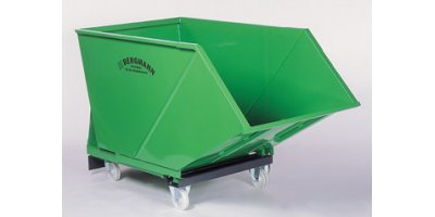 Bergmann - Model SM 1600 (1,600 Litre Capacity) - Tipping Skip for Collection and Transport