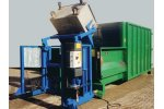 Bergmann - External Lift Tipping Device for Mobile Pack Bins