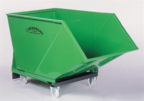BERGMANN - Model Skip SM 1600 - (1,600 Litre Capacity) Roll-Packer For Collection and Transport