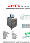 DRTS - FT-10 - Drip Irrigation Flow Testing Machine Brochure