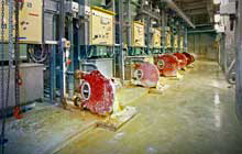 Positive displacement pumps for water and waste industry