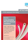 GORE Model Style 400 PTFE-Reinforced Viton Tubing Brochure
