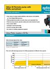 Qdos 30 - Remote Pump with ReNu Pumphead Datasheet