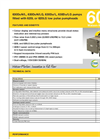 630 Process Pumps with 620L Low Pulsation Pumphead Datasheet
