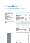 MicroClear - Model MA03-M - Filter Housing Compact - Brochure