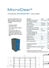 MicroClear - Model MB5-4 - Filter Housing Flexible Unit - Brochure