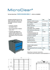 MicroClear - Model MB2-3 - Filter Housing Flexible Unit - Brochure