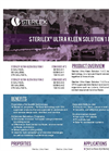 Sterilex - Ultra-Kleen Solution System - Brochure