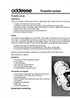 Propeller Pumps - Brochure