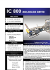 IC 800 Bio-solids Dryer