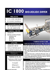 IC 1800 Bio-solids Dryer