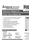 Airpura - Model R600 - Air Purifiers - Brochure