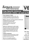 Airpura V600 Air Purifiers Brochure