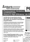 Airpura P600 Air Purifiers Brochure