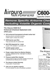 Airpura C600DLX Air Purifiers Brochure