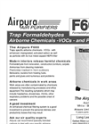 Airpura F600 Air Purifiers Brochure