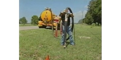 Vacuum excavation solutions for locate underground utilities / soft dig / pot holing - Soil and Groundwater
