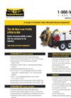 Vac-Tron - Models LP555 & 855 - Trailer Mounted Hydro-Excavation System Brochure