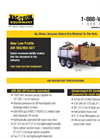 Vac-Tron - Model 555/855 SDT - Trailer-Mounted Air Excavation System Brochure